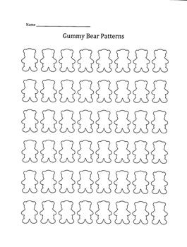Gummy Bear Patterns