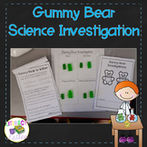 Candy Science:  Gummy Bear Science Experiment {Using the S