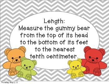 Gummy Bear Volume and Density