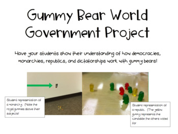 Gummy Bear World Government Project