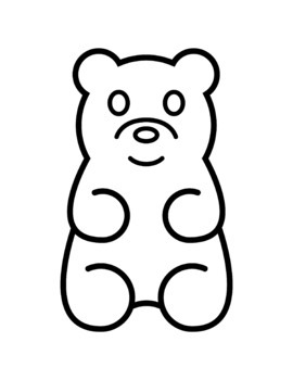 gummy bears clip art by tree house studios teachers pay teachers rh teacherspayteachers com gummy bear clip art birthday gummy bear clip art free