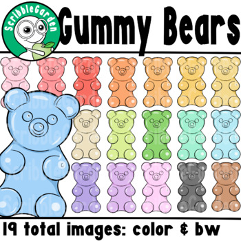 e68c78809 Gummy Bears Counters ClipArt Gummy Bears Counters ClipArt