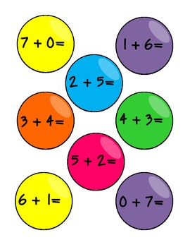 Gummy For Addition (CCSS Aligned)