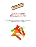 Gummy Worm Metric Measurement