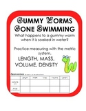 Gummy Worm Scientific Method Density Inquiry Activity Experiment