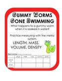Gummy Worm Scientific Method Density Inquiry Activity Experiment