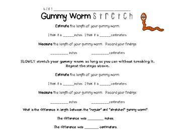 Gummy Worm Stretch
