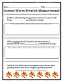 Gummy Worm Stretch Measurement
