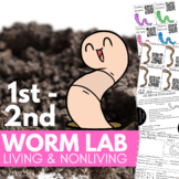 Gummy Worm Vs. Earth Worm Lab Living and Nonliving Things