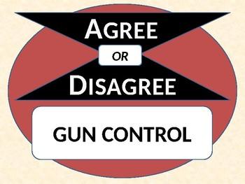 Gun Control - Agree or Disagree