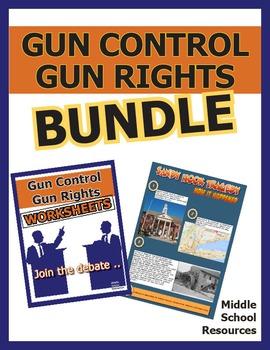 Gun Control   Gun Rights Value Bundle