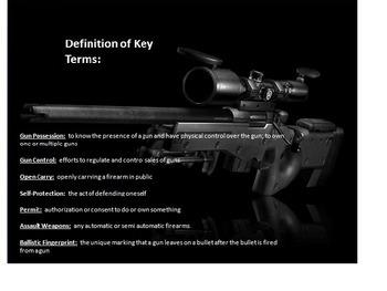 Gun Control PowerPoint