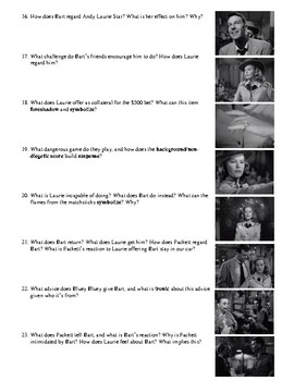 Gun Crazy Film (1950) Study Guide Movie Packet