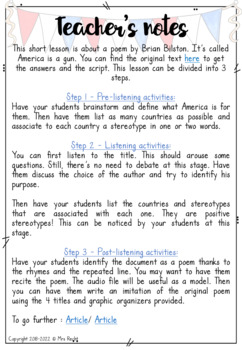 Gun Violence Poetry Unit