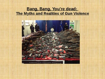 Gun Violence in America: myths and realities