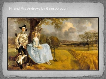 Gun dogs linked with Mr and Mrs Andrews painting by Gainsborough