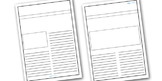 Gunpowder Plot Newspaper Template