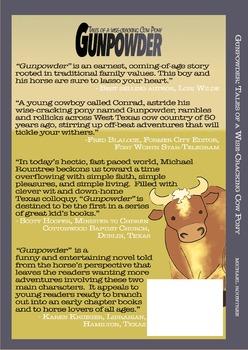 Gunpowder Tales of a Wise-Cracking Cow Pony (Hardcopy book)