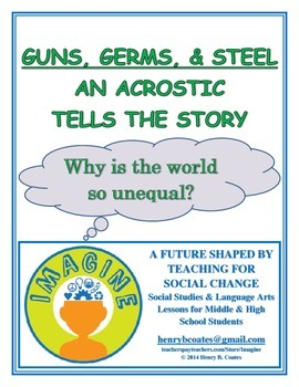 Guns, Germs, and Steel: An Acrostic Tells the Story