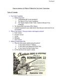 Guns and Gun Violence in America Complete Curriculum