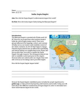 Gupta Empire Achievements
