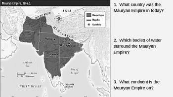 Gupta Empire: Achievements and Ashoka PPT (BONUS MAURYAN EMPIRE!)