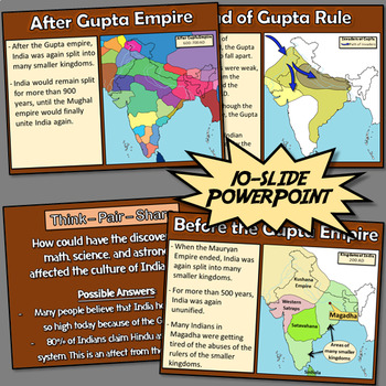 Gupta Empire – The Golden Age of India