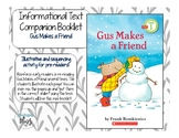 Gus Makes a Friend Companion Booklet