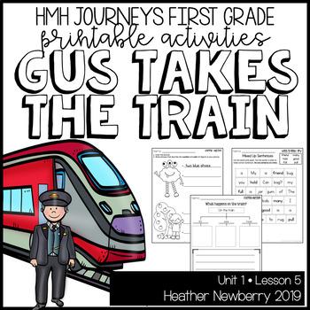 Gus Takes the Train: Journeys 1st Grade (Unit 1, Lesson 5)