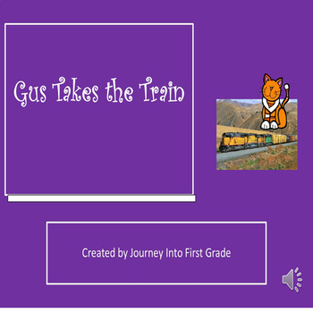 Gus Takes the Train (Journeys Common Core Reading Series)