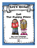 Gus from The Puppy Place: Let's Read!  (Reading Response P