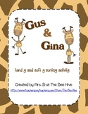 Gus and Gina Hard g and Soft g Sort