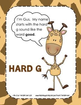 Gus and Gina Hard g and Soft g Sort