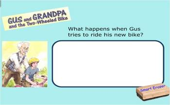 Gus and Grandpa SmartBoard comprehension activity