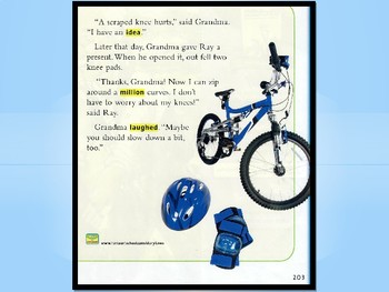 Gus and Grandpa and the two-wheeled bike StoryTown Powerpoint
