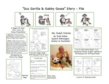 Gus the Gorilla & Gabby Goose A Phonemic Awareness Study
