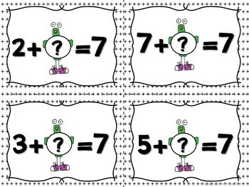5 Math Centers for Addition and a Math Craftivity Bundle