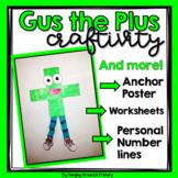 Addition Craftivity - Gus the Plus