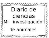 Gusanos y Pez Diario de Ciencias
