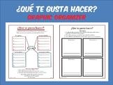 Gustar Graphic Organizer / Spanish