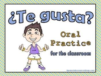 Gustar Oral Practice Powerpoint