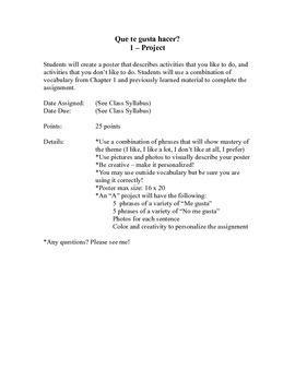 Gustar Project, Esp 1