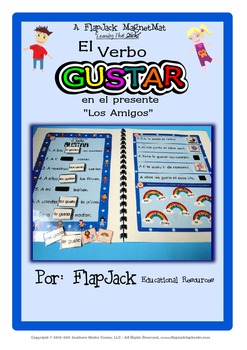 Gustar Spanish Verb MagnetMat Fun