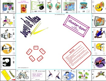 Gustar-Type Verbs:  Board Game