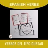 Spanish Gustar & Encantar: Puzzles, Sentence Manipulables,