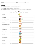 Gustar and Food/ el verbo gustar y la comida