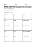 Gustar and infinitive interview squares