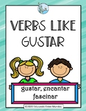 Gustar and verbs like gustar