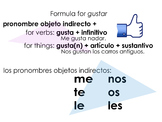 Gustar with Indirect Objects
