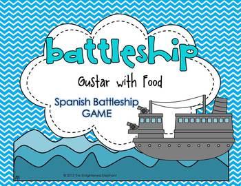 Gustar with Nouns Spanish Battleship Game